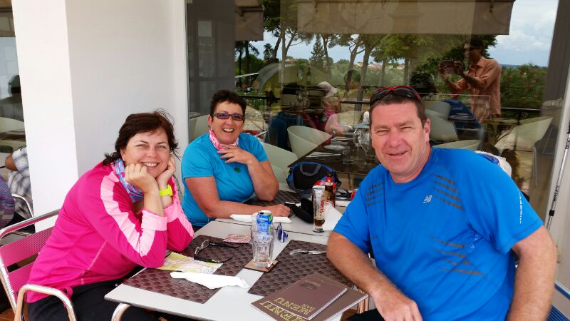 Rabacal to Cernache with Michelle, Shannon and Alan
